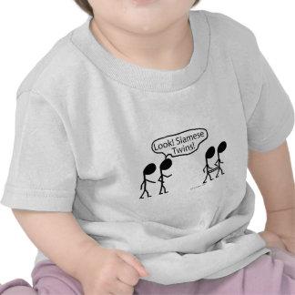 Jumeaux siamois t-shirts