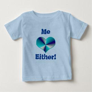 Jumeaux Tripplets je l'un ou l'autre ! ou surprise T-shirt Pour Bébé