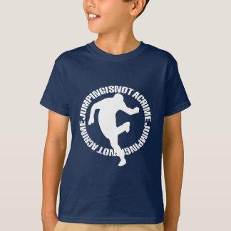 Jumpstyle Art-Front u. CAPP Plattenen-Rückseite T-Shirt