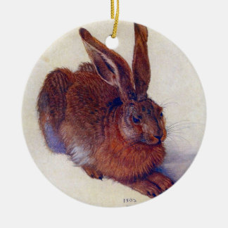 Junge Hasen durch Albrecht Durer, Keramik Ornament