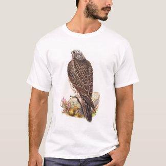 Junge Island-Falke Gould Vögel von Großbritannien T-Shirt