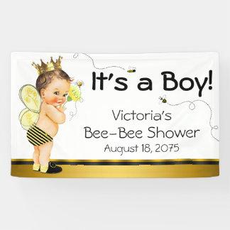 Jungen-Bienen-Babyparty Banner