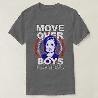 """Jungen Hillary Clinton """"Bewegung über"""" grauer T - T-Shirt"""