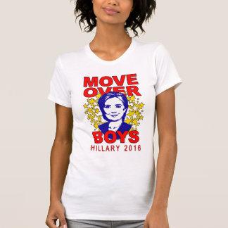 """Jungen Hillary Clinton """"Bewegung über"""" T - Shirt"""