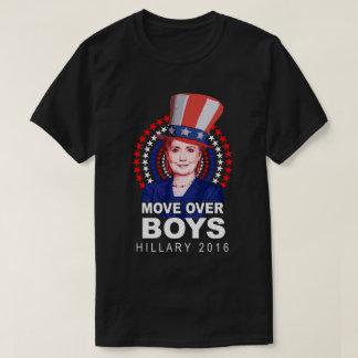 """Jungen Hillary Clinton """"Bewegung über"""" Uncle Sam T-Shirt"""