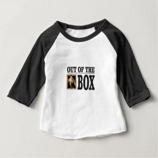 Jungen-Pop aus Kasten heraus Baby T-shirt