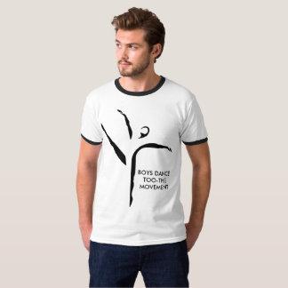 Jungen-Tanz too-the Bewegungst-shirt T-Shirt