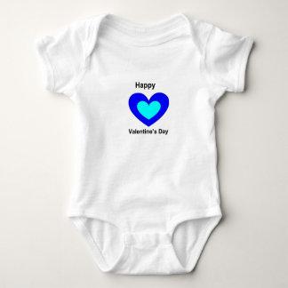 Jungen-Valentinstag Onsie Baby Strampler
