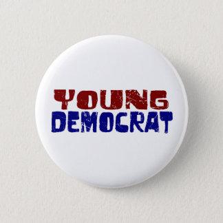 Junger Demokrat Runder Button 5,7 Cm