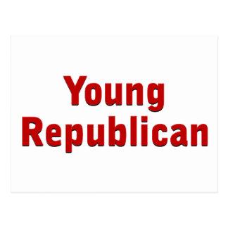 Junger Republikaner Postkarten