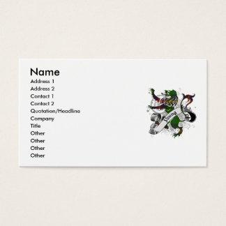 Junger Tartan-Löwe Visitenkarte