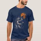 junger träumender Wolf T-Shirt