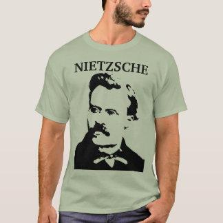 Junges Nietzsche Monochrom T-Shirt