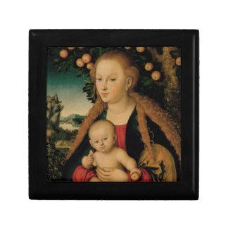 Jungfrau-Kind unter Apfelbaum Cranach Erinnerungskiste