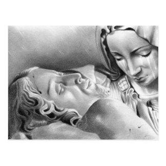 Jungfrau-Mary-Postkarte Jesuss Christus Postkarte