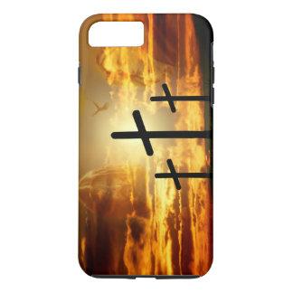 Jungfrau-Mary-Taube Calvery Jesuss Christus iPhone 7 Plus Hülle