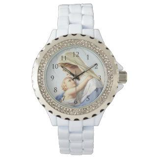 Jungfrau-Mary-Uhr Armbanduhr