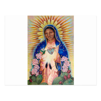 Jungfrau Mary - unsere Dame Of Guadalupe Postkarte
