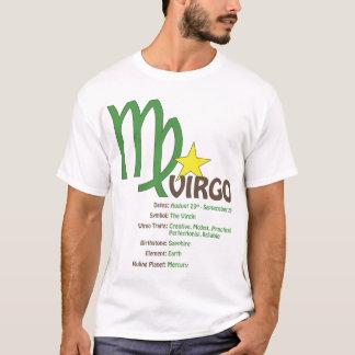 Jungfrau-Merkmal-T - Shirt