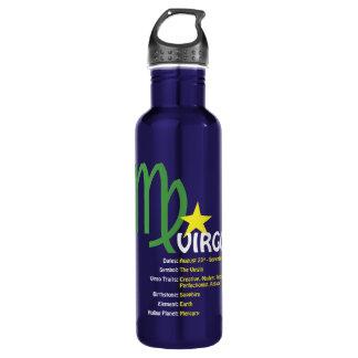 Jungfrau-Merkmal-Wasser-Flasche Edelstahlflasche