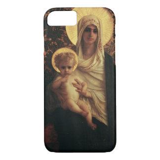 Jungfrau und Kind, 1872 iPhone 8/7 Hülle