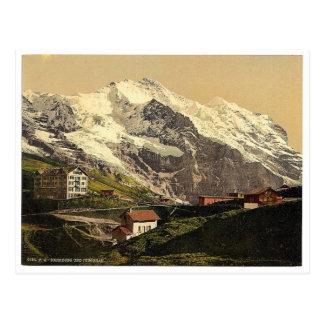 Jungfrau und Scheidegg, Bernese Oberland, Switzerl Postkarte