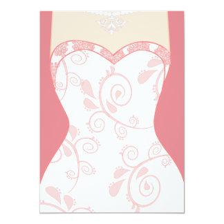Junggeselinnen-Abschied, Brautparty, Henne-Party…. 12,7 X 17,8 Cm Einladungskarte