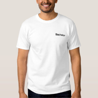 Junggeselle Besticktes T-Shirt