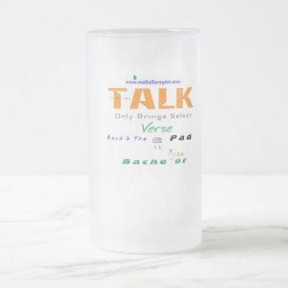 Junggeselle - Glas Mattglas Bierglas