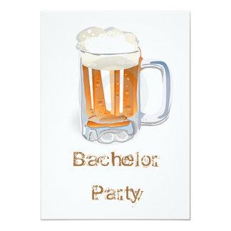Junggeselle-Party 12,7 X 17,8 Cm Einladungskarte