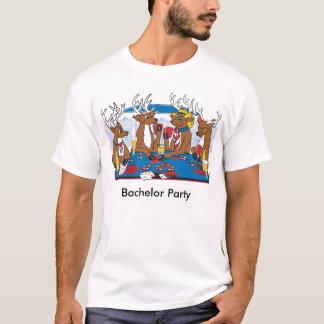 Junggeselle-Party-Poker in Vegas T-Shirt