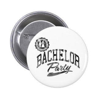 Junggeselle-Party Runder Button 5,1 Cm