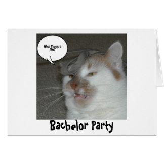 Junggeselle-Party-Spaß Grußkarte