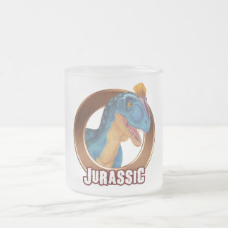 JURA! Dinosaurier Mattglastasse