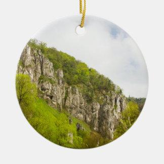 Jura-Hügel Rundes Keramik Ornament