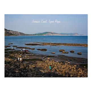 Juraküste, Lyme Regis, Dorset Postkarte