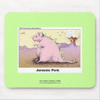 Jurrasic Schweinefleisch-unglaublich witzig Cartoo Mousepads