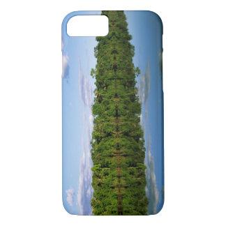 Juruena, Brasilien. Bewaldeter Flussufer iPhone 8/7 Hülle