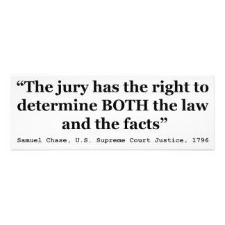 Jury-Aufhebungs-Zitat-Gerechtigkeits-Samuel-Smith Fotodrucke