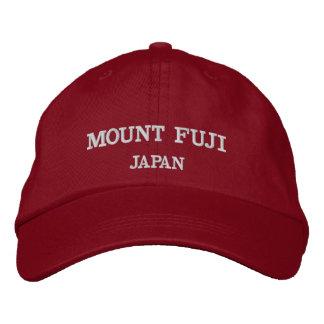 Justierbare Baseball-Mütze des Fujisans Bestickte Baseballkappe