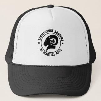 Justierbare Fernlastfahrer-Kappe, schwarzes Truckerkappe