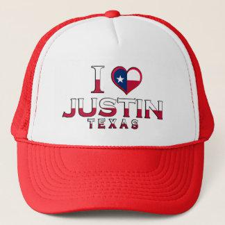 Justin, Texas Truckerkappe