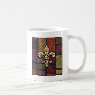 Juwel-Schein-Flecken Lilien-Flor New Orleans Kaffeetasse