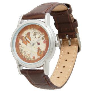 Juwelen des Herbstes Armbanduhr