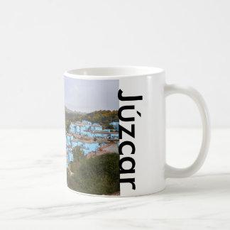 Júzcar zerteilt kaffeetasse