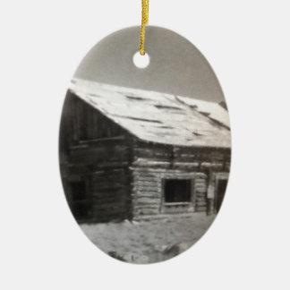 Kabinen-Traum Ovales Keramik Ornament