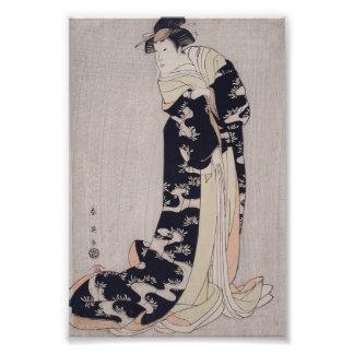 Kabuki Schauspieler Kunstfoto