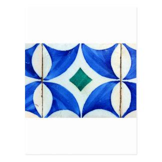 Kacheln, Portuguese Tiles, Postkarte