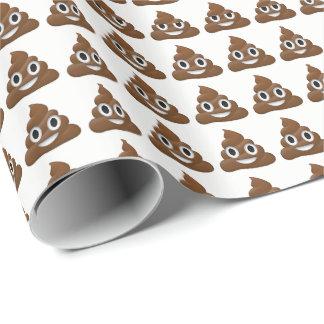 Kacken Sie Emoji Verpackungs-Papier Geschenkpapier