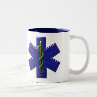 Kaffee angetriebene EMS-Tier-Tasse Zweifarbige Tasse